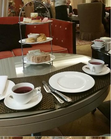 The Athenaeum Hotel & Residences: First of the two courses at the afternoon tea