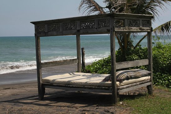 Hotel Tugu Bali : Hotel's private beach