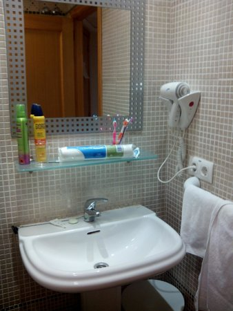 Adsubia Hotel : Lavabo