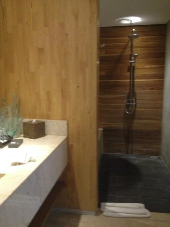Kei Villas: shower in master room