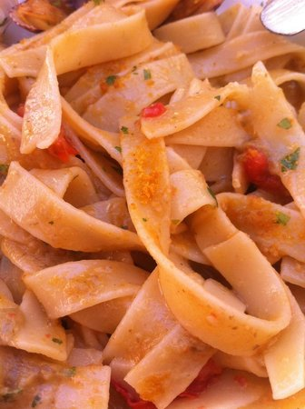 La Botteghina: Bottarga, chef's pasta with the catch of the day