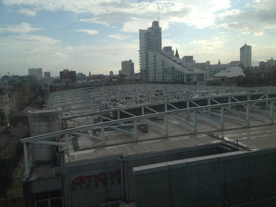 Hilton Manchester Deansgate: Room with a view