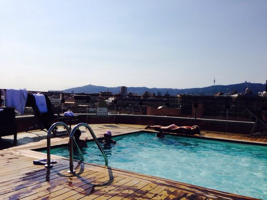 Hotel 1898 : Rooftop pool