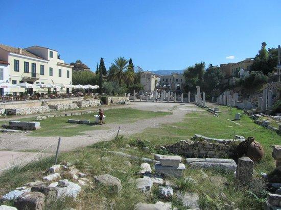 Roman Agora: Общий вид римской агоры