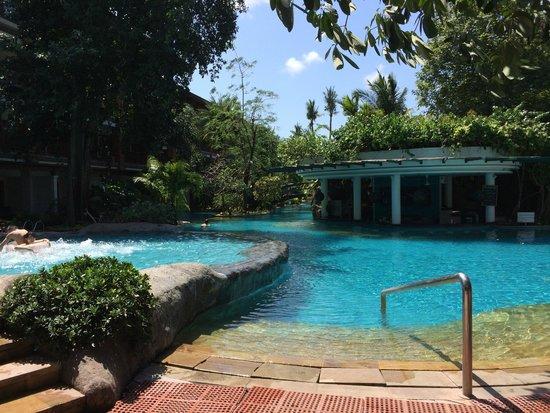Padma Resort Legian: pool by 100-400 room block area