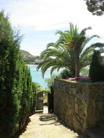 Almadraba Park Hotel: Path to beach