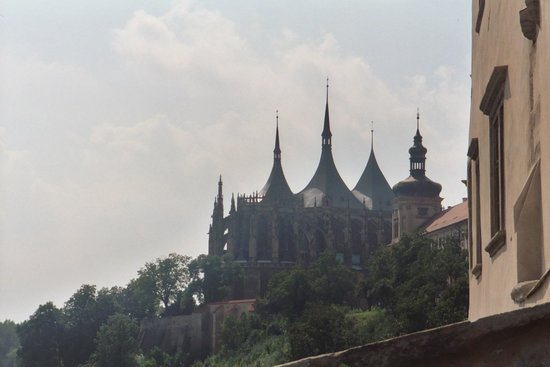 Cathedral of St. Barbara from afar