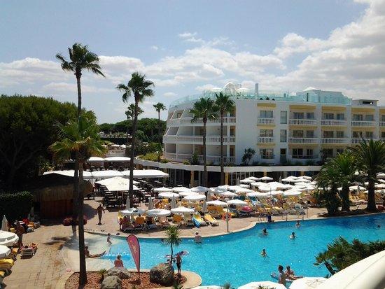 IBEROSTAR Albufera Playa : vue de la chambre vers l'hotel