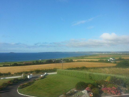 Ballymacoda, Irlanda: vista dal B&B