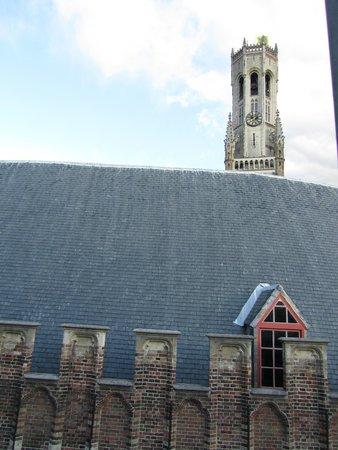 Martin's Brugge: вид из окна