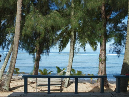 Sunhaven Beach Bungalows: beach view in the morning