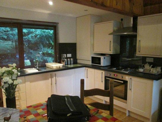 Wildside Highland Lodges: Kitchen