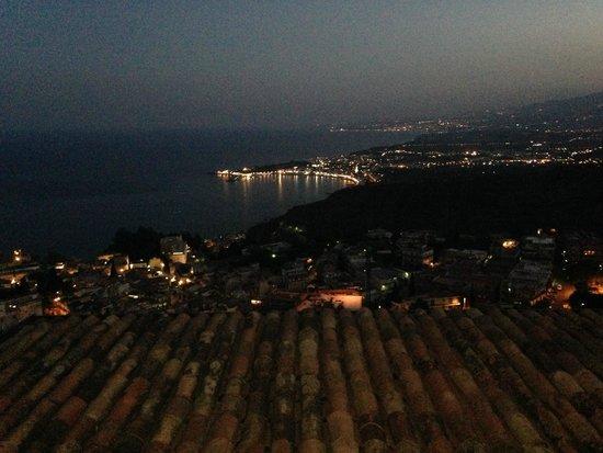 Hotel Villa Ducale: Night Room terrace view