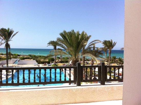 Al Jazira Beach & Spa: Vue de la chambre