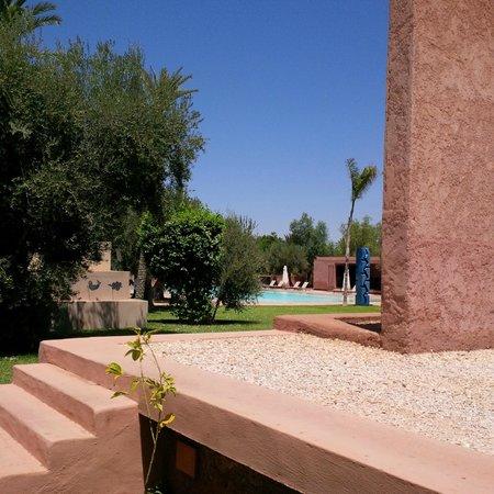 Hôtel Dar Sabra : jardon