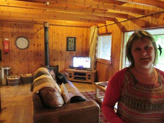 Wildside Highland Lodges: Main room