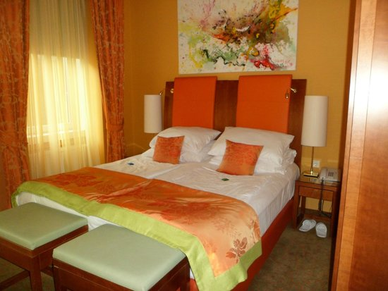 Small Luxury Hotel Das Tyrol: Cómodas camas