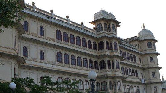 Shiv Niwas Palace: Private royal quarters