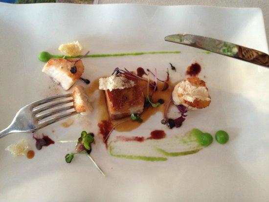 Restaurant Bugenvila : Scallops and Pork Belly