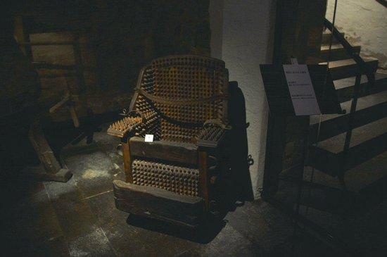 Medieval Crime Museum (Mittelalterliches Kriminalmuseum): Кресло для допроса