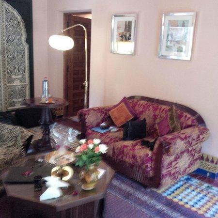 Dar Ayniwen Villa Hotel: salon