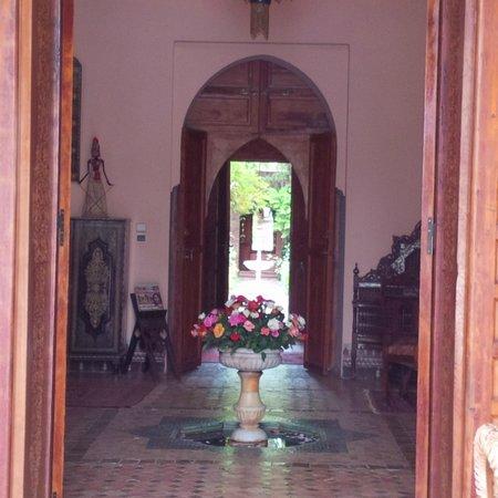 Dar Ayniwen Villa Hotel : entree