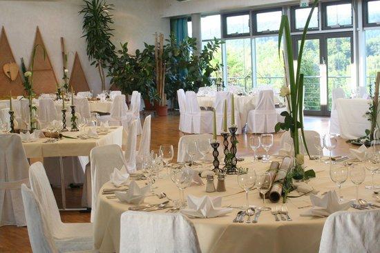 Landhotel am Rothenberg: Veranstaltungsraum Cafeteria