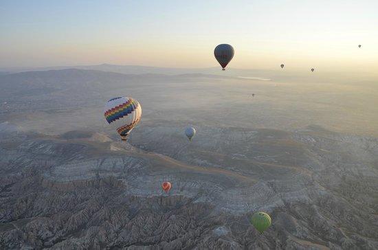 Royal Stone Houses: Teras katından uçan balonları izlemek ayrı bir keyif