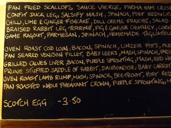 Bottlesford, UK: Food to die for