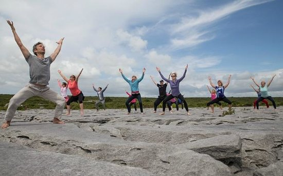 Burren Yoga Retreats: Yoga on The Burren with Michael Ryan