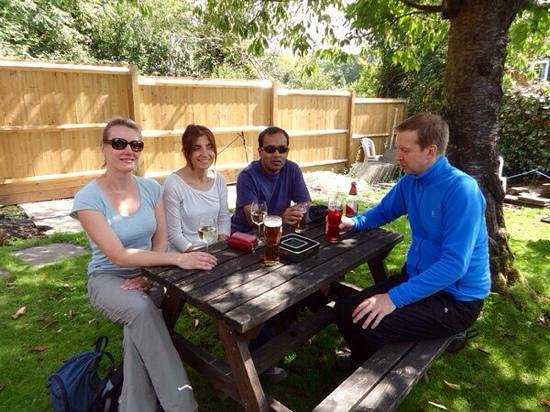 The Red Lion Public House: In the Beer Garden