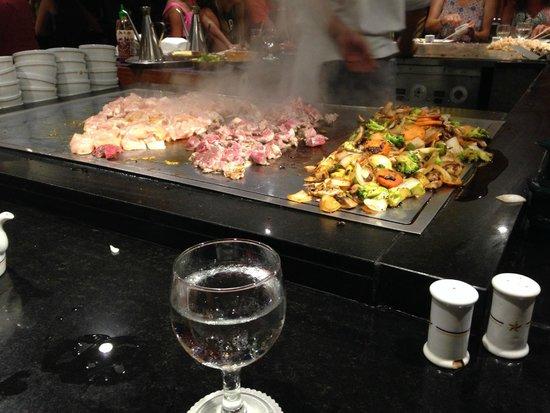 Iberostar Paraiso Lindo: Restaurante Japonés
