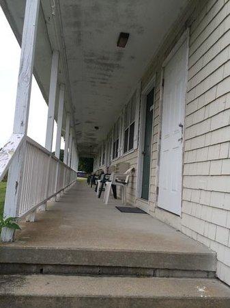 General Stanton Inn: view