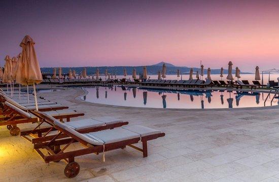 Kiani Beach Resort: Już nie noc ale jeszcze nie dzień