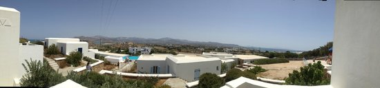 Mediterranean Hotel : Panoramic view from our room