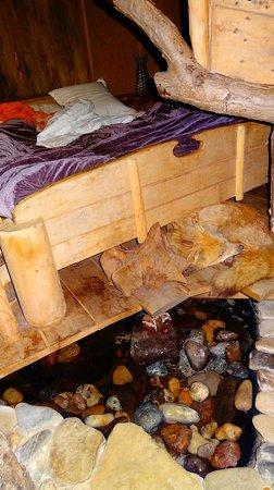 la cabane dans la for t photo de la balade des gnomes. Black Bedroom Furniture Sets. Home Design Ideas