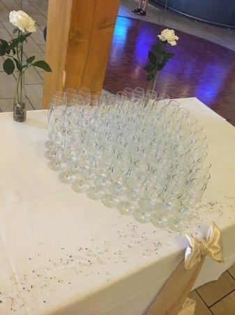 Draycote Hotel: Welcome Drinks