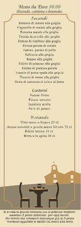 Ristorante Pizzeria Baddy's: menu turistico 2