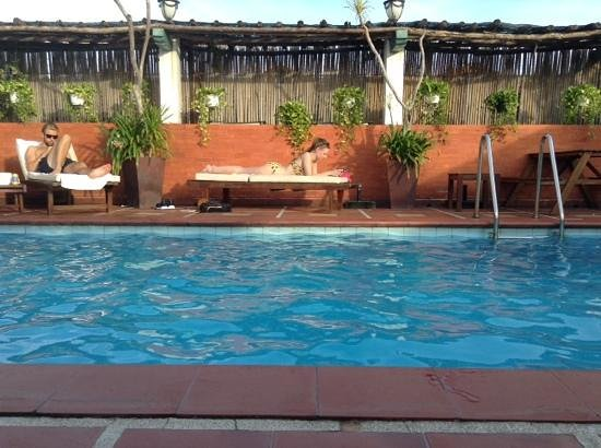 Vinh Hung Library Hotel: Swimming pool