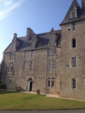 La Chateau Saint Pierre : Il castello visto da fuori
