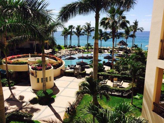 Villa La Estancia : View to the amazing pool area