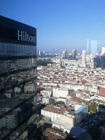 Hilton Istanbul Bomonti Hotel & Conference Center: Stunning view