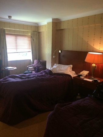 Grosvenor Pulford Hotel & Spa: Twin room