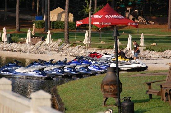 The Ritz-Carlton Reynolds, Lake Oconee: Beach front area