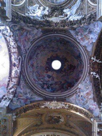 Santa Maria della Vittoria : cupola al transetto