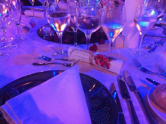 H10 Costa Adeje Palace : Montaje del Banquete