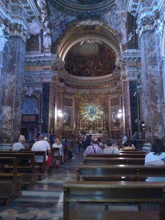 Santa Maria della Vittoria : l'interno