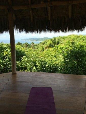 Haramara Retreat: Upper yoga shala