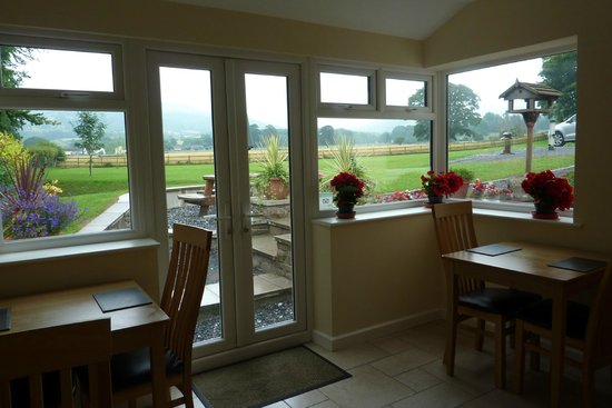 The Lodge Brecon B&B: View from Dining Room at the Lodge