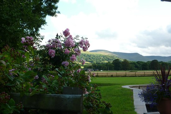 The Lodge Brecon B&B: View from the Lodge B&B